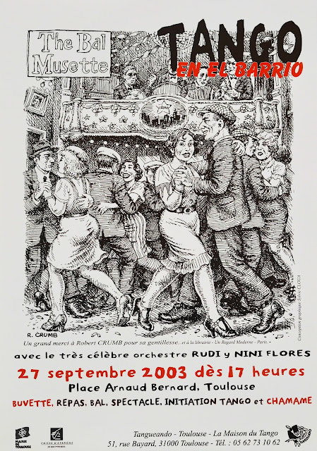 Affiche Tangueando 2003