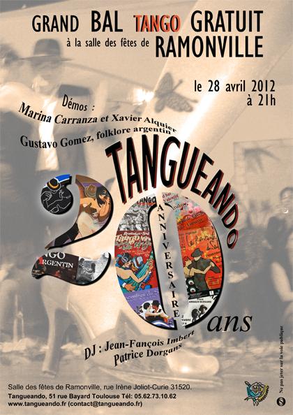 Affiche Tangueando 2012