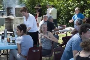Pique-nique à la Ferme de 50 de Ramonville le 21 mai 2016 (photo: Jacques Guyon)