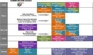 Planning cours 2016-2017 titré