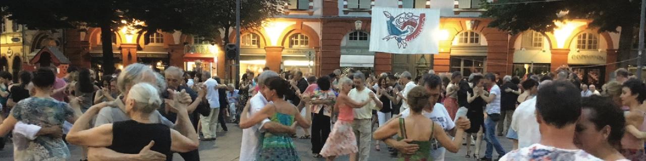 Tango en el barrio - Place Saint-Georges